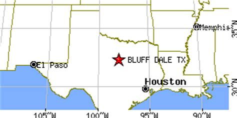 dale texas map bluff dale texas tx population data races housing economy
