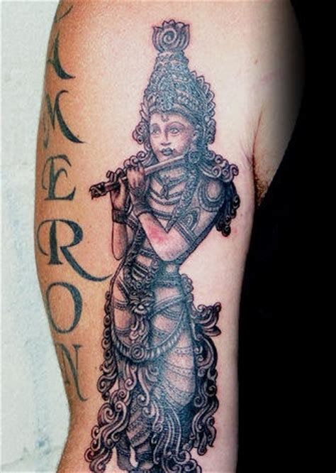 tattoo designs of lord krishna hindu god on arm designs pictures