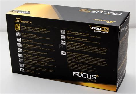 Seasonic Focus Plus Gold Fx 850 80 Gold Modular 10 Year Warranty pc ekspert hardware ezine seasonic focus plus gold 850fx recenzija