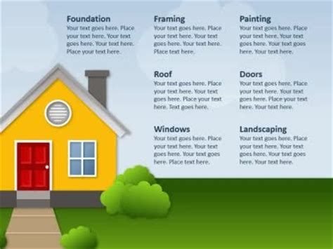 housing finance powerpoint template powerpoint template house choice image powerpoint