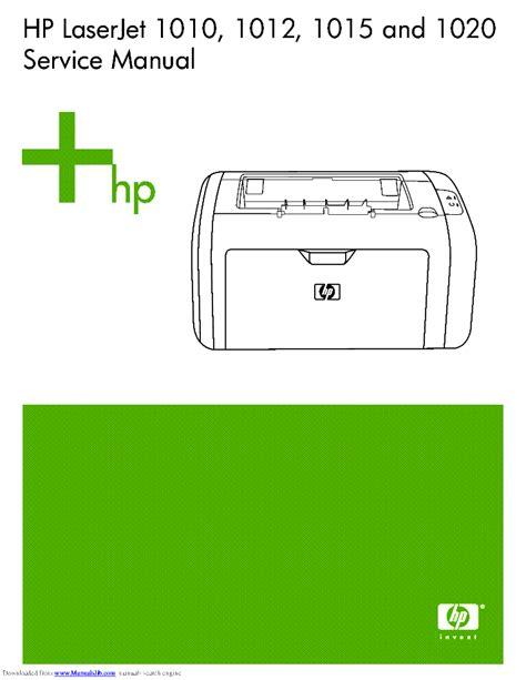 Hp Laserjet 5200 5200l Parts Service Manual Service Manual
