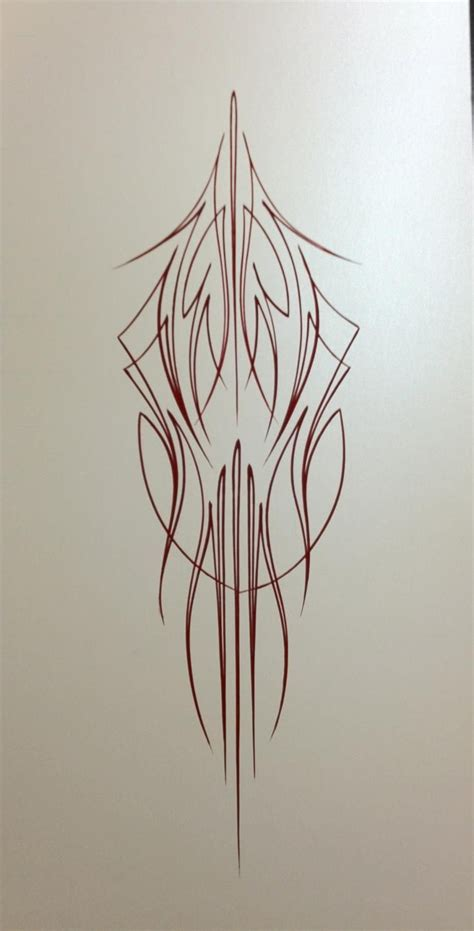 pinstriping tattoo designs 25 best ideas about pinstriping on