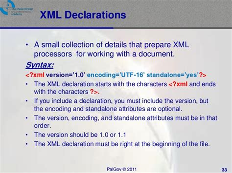 tutorial on xml namespaces pal gov tutorial2 session1 xml basics and namespaces
