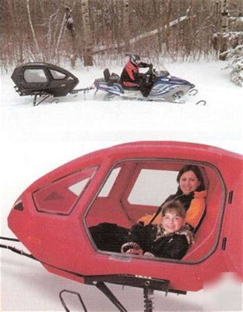 atv & snowmobile coach / human pod skiis snow or tires