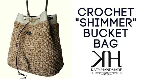 crochet pattern for bucket bag crochet bucket bag tutorial dancox for