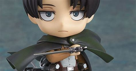 Nendoroid Levi 390 Attack On Titan Bib nendoroid attack on titan levi attack on titan so and kawaii