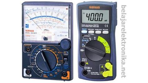 Multimeter Analog Yang Bagus fungsi dan cara menggunakan multitester digital analog