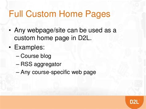 d2l regional events 2014 building custom widgets in
