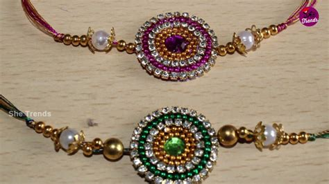 Handmade Rakhi Ideas - best handmade rakhi ideas rakhi preparation at home