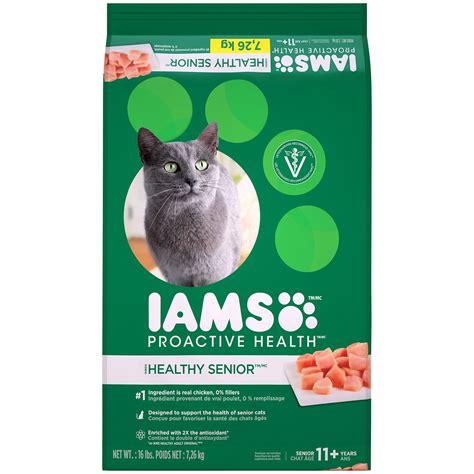 iams senior food iams proactive health senior plus cat food petco