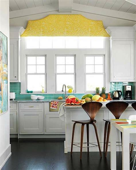 yellow kitchen decor blue and yellow kitchen design ideas