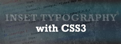 css3 typography css3 text effects 44 cool css text styling tutorials