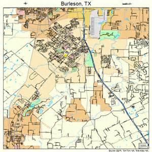 burleson map burleson map 4811428