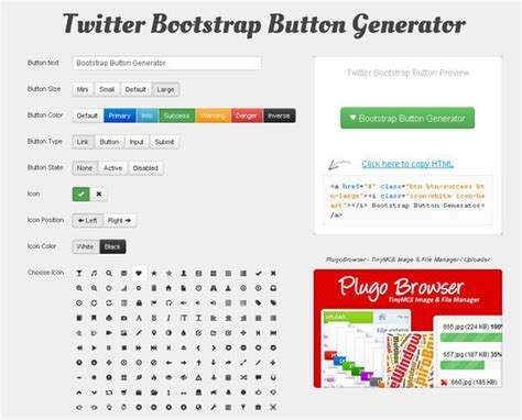 bootstrap themes buttons button bootstrap link phpsourcecode net