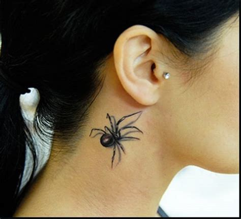 latest new cool tattoos 3d tattoos spider designs