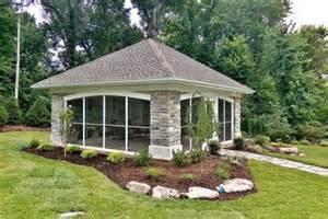 enclosed backyard enclosed backyard pavillion outdoors
