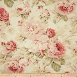 Richloom queen floral tearose makin the fabrics pinterest