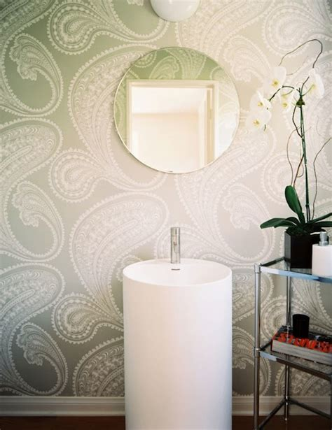 Modern Bathroom Wallpaper Rajapur Wallpaper Modern Bathroom Lonny Magazine