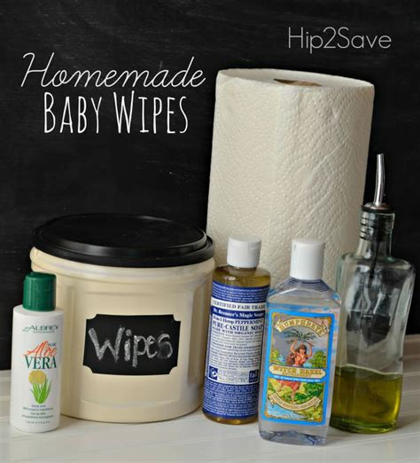 Handmade Baby Wipes - baby wipes recipe hip2save when i