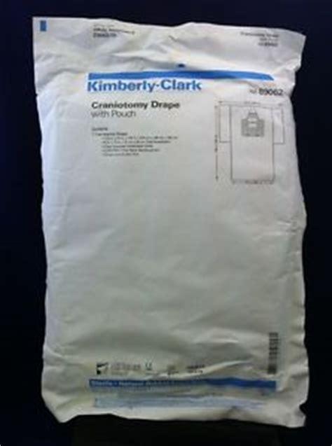 kimberly clark drapes kimberly clark craniotomy drape w pouch 122 quot x134 quot ref