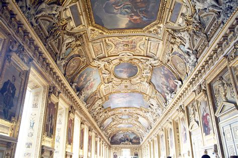 Louvre Interior by The Most Popular Travel Destinations In The World