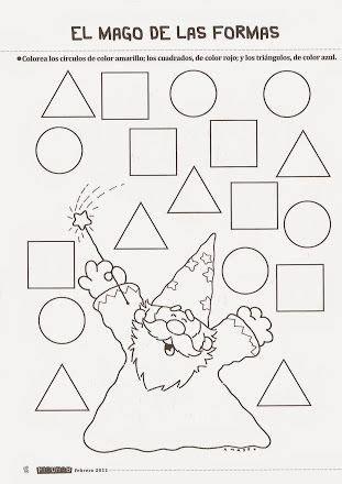 figuras geometricas actividades para preescolar pin de leonor sancho en matematicas pinterest