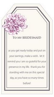 thank you letter for gift in honor of 25 best bridesmaid quotes on wedding