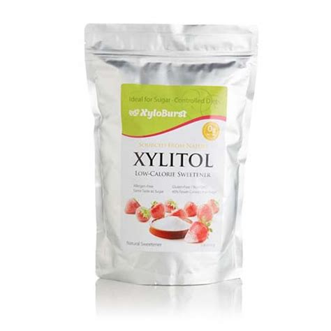 carbohydrates xylitol sweetener 3lb bag focus nutrition