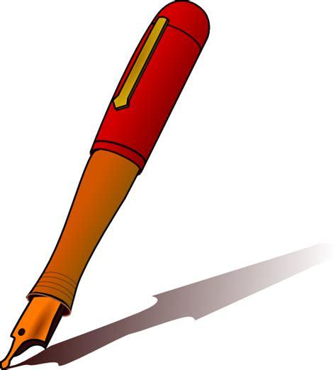 pen clipart pen clip at clker vector clip