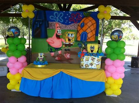 spongebob centerpiece decorations 421 best images about yesibaby xo on palm