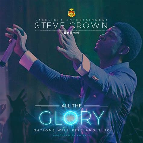 download free mp3 you are great by steve crown download music steve crown all the glory gospel wind