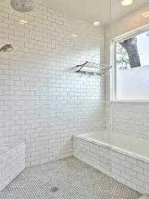 Subway Style Tile white subway tile grey grout home design ideas pictures remodel and