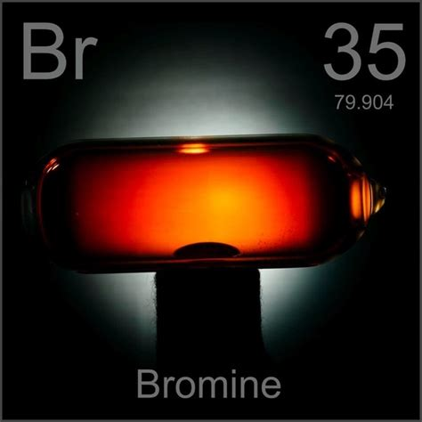 what color is bromine what is the colour of bromine quora