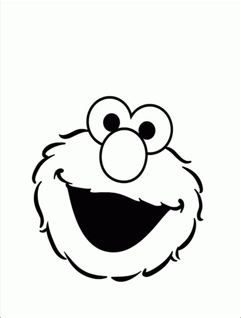 elmo face coloring page 91 elmo coloring pages to print face of elmo