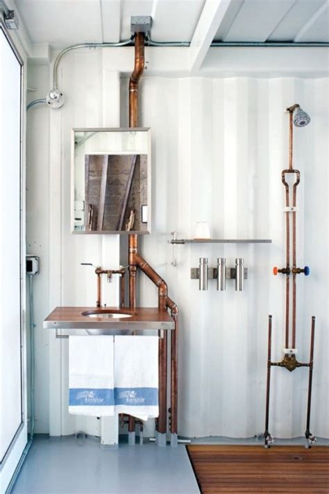 Design Plumbing by 25 Industrial Bathroom Designs With Vintage Or Minimalist