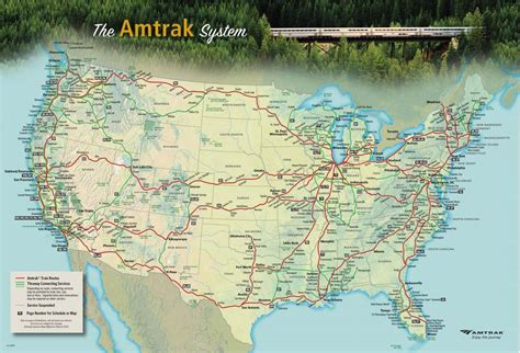 printable route planner usa amtrak system timetable pdf