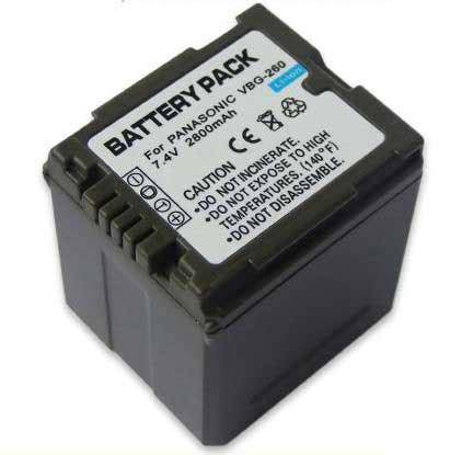 Battery Panasonic Vbg 260 cheap battery replacement panasonic vw vbg260 battery panasonic vw vbg260 digital battery