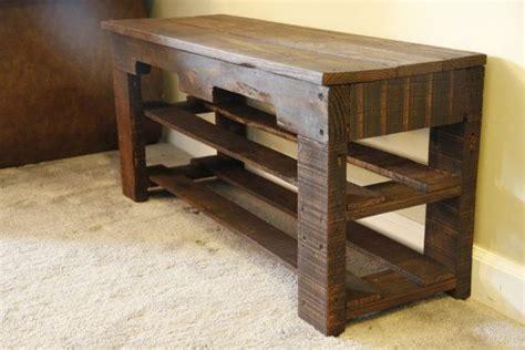 pallet shoe bench pallet shoe rack bench pallet shoe rack by