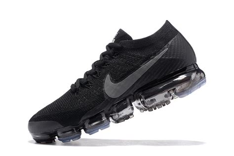 Nike Air Vapor Max 2018 size us7 12 nike air vapormax flyknit 2018 black 849558 001 s running shoes trainers