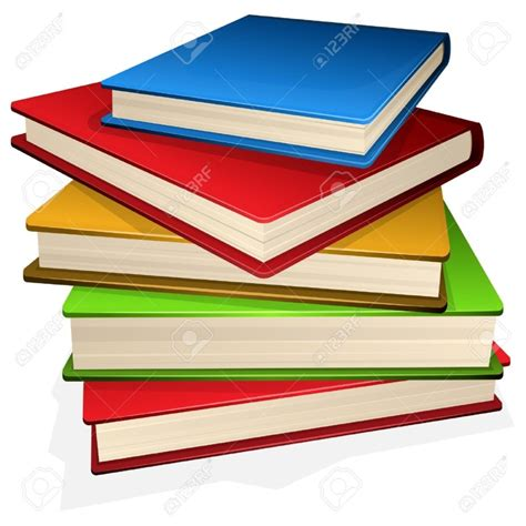 clipart libri stack of books clipart clipartion