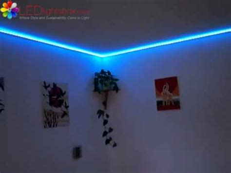 Ideen Mit Led Strips 4964 by Led Lights Rgb In Unserem Wohnzimmer