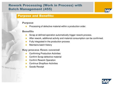 workflow process batch manager ppt sap best practices for semiconductor and