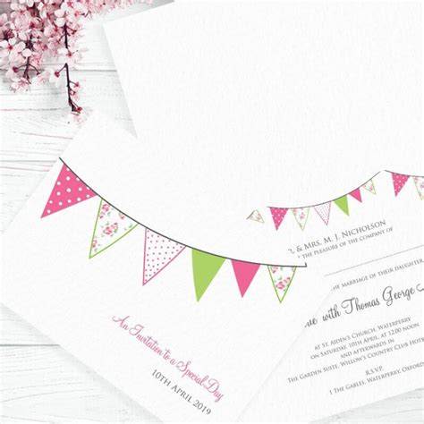 Paper Themes Wedding Invitations by Pink Wedding Fete Wedding Invitation Paper Themes