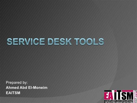 Help Desk Tools by Itil Service Desk Tools