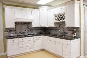 White Shaker Style Kitchen Cabinets by White Shaker Kitchen Cabinets