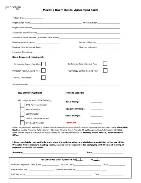 event space rental contract template 28 images of event space rental agreement template
