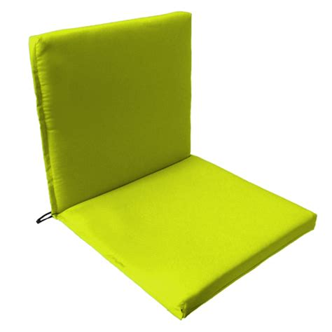 Seat Back Cushions For Garden Chairs by Back Seat Outdoor Waterproof Chair Pad Cushion Garden