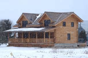 Ranch Home Plans With Basements file log home jpg wikimedia commons