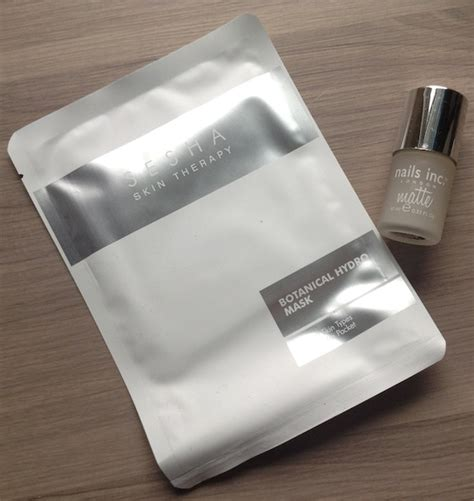 sesha hb photo glossybox review october 2014 my subscription addiction