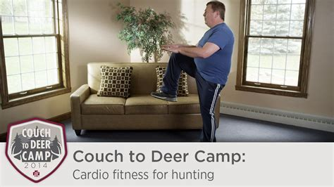 couch to fitness couch to deer c cardio fitness for hunting youtube